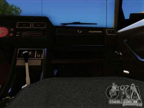 VAZ 2104 táxi para vista lateral GTA San Andreas