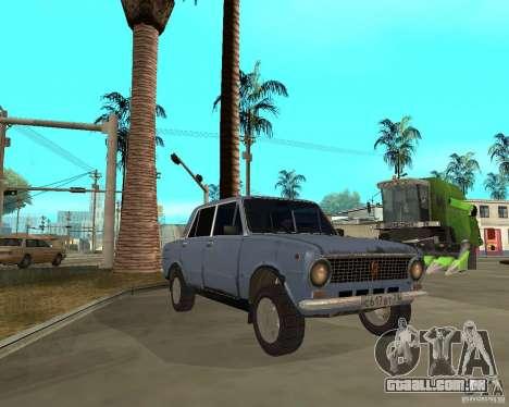 Kopeyka (corrigido) para GTA San Andreas vista traseira
