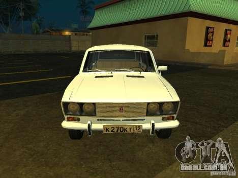 VAZ 2106 Touring para GTA San Andreas esquerda vista
