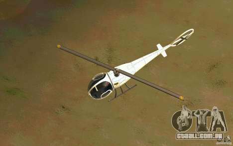 Dragonfly - Land Version para GTA San Andreas vista interior