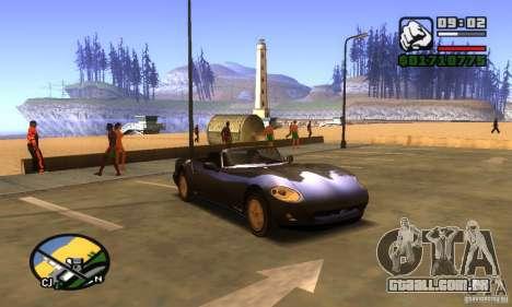 New Banshee [HD] para GTA San Andreas esquerda vista