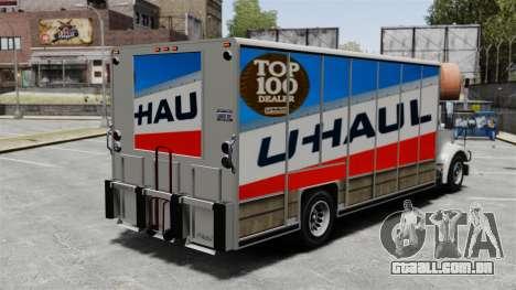 U-Haul caminhões para GTA 4 segundo screenshot