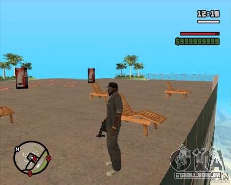 CJ-prefeito para GTA San Andreas quinto tela