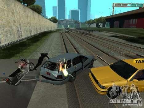 As máquinas de explosão realista para GTA San Andreas segunda tela