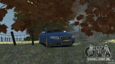 Audi S4 Avant para GTA 4 vista lateral