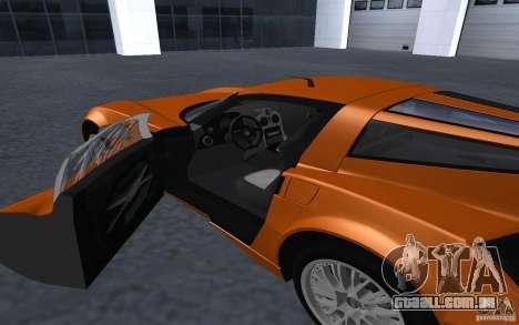 Spada Codatronca TS Concept 2008 para GTA San Andreas vista direita