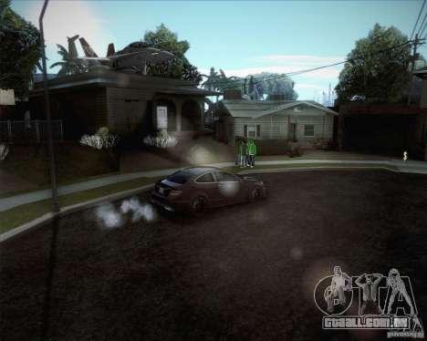 Novas estradas ao redor de San Andreas para GTA San Andreas por diante tela