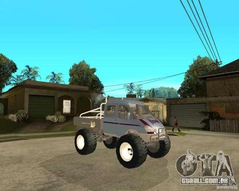 GÁS KeržaK (Swamp Buggy) para GTA San Andreas vista direita