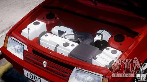 Vaz-21093i para GTA 4 interior
