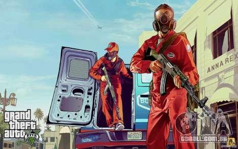 Telas de boot no estilo de GTA 5 para GTA San Andreas terceira tela