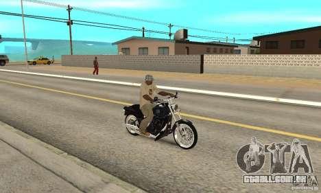 Harley Davidson FXSTBi Night Train para GTA San Andreas vista direita