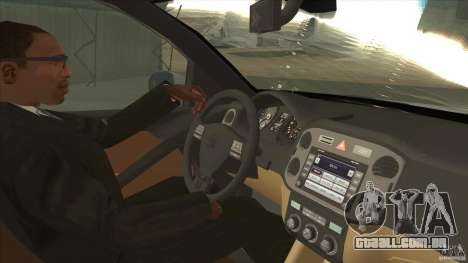 Volkswagen Tiguan 2012 v2.0 para GTA San Andreas vista interior