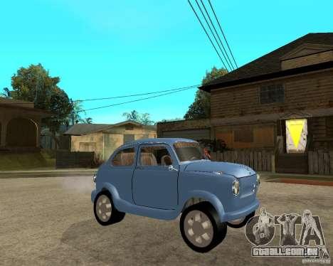 HotRod de 965 Zaporozhets ZAZ para GTA San Andreas vista direita