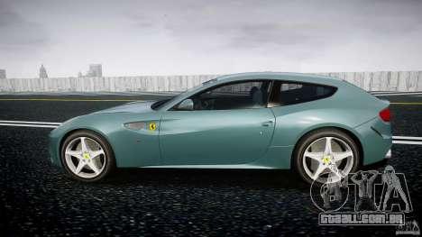Ferrari FF 2012 para GTA 4 esquerda vista