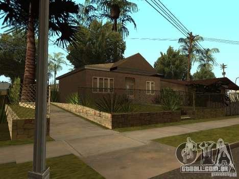 Retekstur casas em Groove Street para GTA San Andreas por diante tela