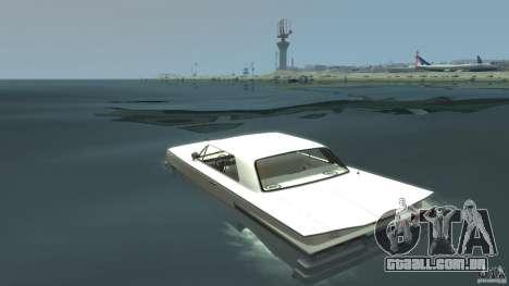 Voodoo Boat para GTA 4 traseira esquerda vista