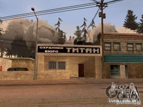 A aldeia de Ivanovka para GTA San Andreas décima primeira imagem de tela