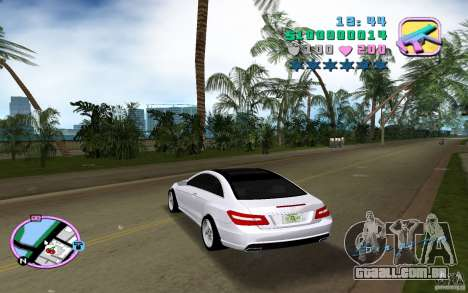 Mercedes-Benz E Class Coupe C207 para GTA Vice City