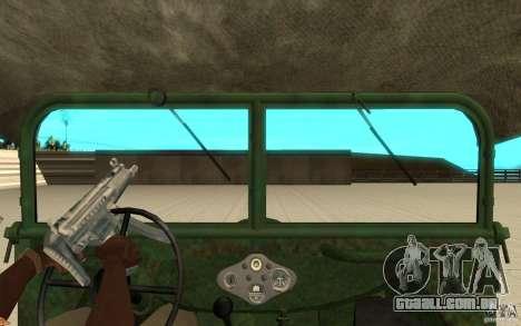 Gaz-64 pele 1 para GTA San Andreas vista direita