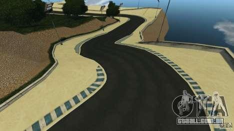 Laguna Seca [HD] Retexture para GTA 4 décimo tela