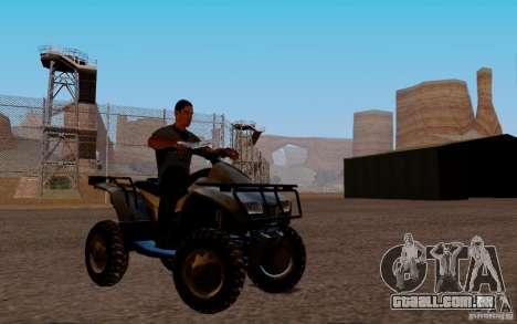 Quadbike from BF 3 para GTA San Andreas