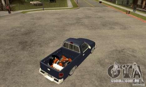 Chevrolet S-10 1996 Draggin para GTA San Andreas vista direita