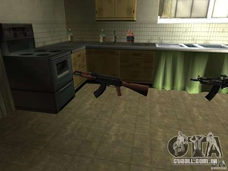 Armas de Pak nacionais para GTA San Andreas segunda tela
