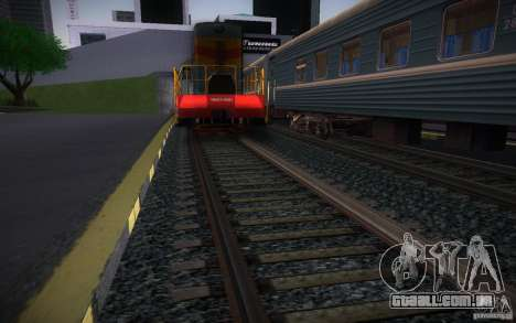 Trilhos de HD v 2.0 Final para GTA San Andreas