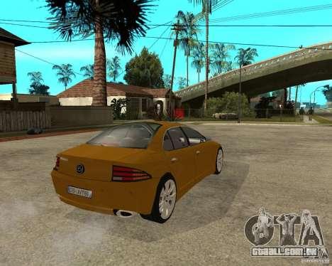 VC Viola II para GTA San Andreas traseira esquerda vista