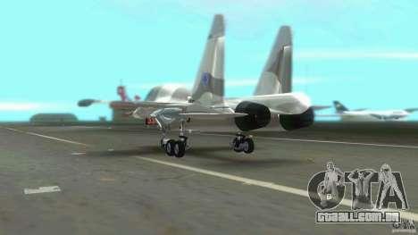 VC Air Force para GTA Vice City vista traseira
