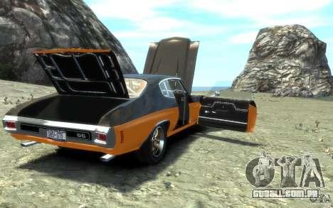 Chevrolet Chevelle SS 1970 para GTA 4 motor