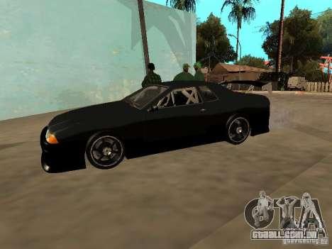 New Tuning Kits for Elegy para GTA San Andreas vista direita