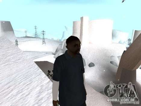 Snow MOD 2012-2013 para GTA San Andreas terceira tela