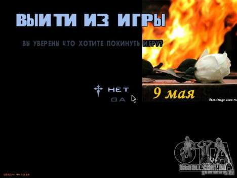 Telas de carregamento de 9 de maio para GTA San Andreas sétima tela