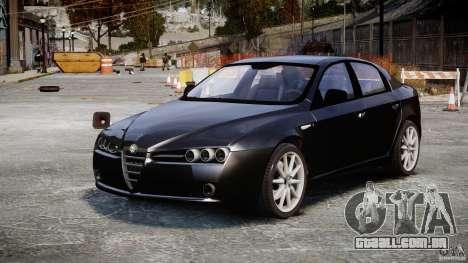 Alfa Romeo 159 Li v2 para GTA 4 vista direita