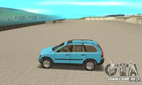 Volvo XC90 para GTA San Andreas esquerda vista