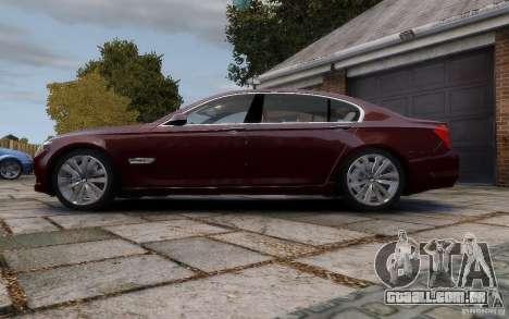 BMW 760Li 2011 para GTA 4 esquerda vista