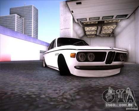 BMW 3.0 CSL Stunning 1971 para GTA San Andreas vista traseira