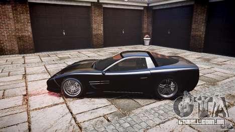 Coquette FBI car para GTA 4 vista de volta