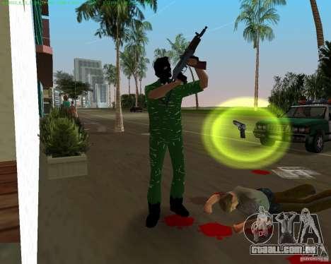 AK-74U para GTA Vice City por diante tela