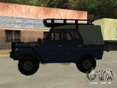 UAZ 31512 para GTA San Andreas esquerda vista