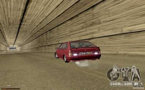 ВАЗ 2114 qualidade para GTA San Andreas vista superior