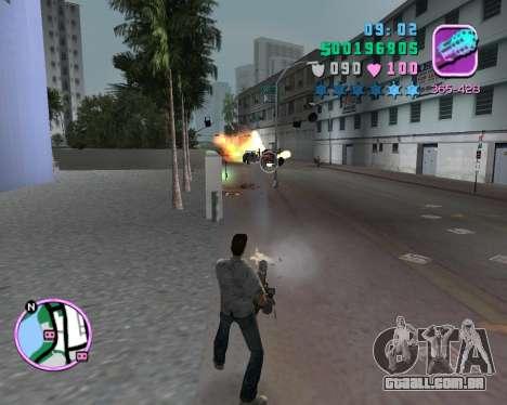 Camisa cinza para GTA Vice City quinto tela