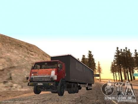 KAMAZ 5410 para GTA San Andreas vista direita