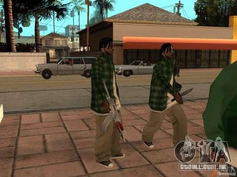 Pak versão doméstica de armas 3 para GTA San Andreas sexta tela