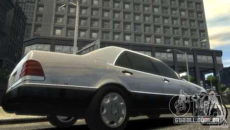 Mercedes-Benz 600SEL wheel1 tinted para GTA 4 vista direita