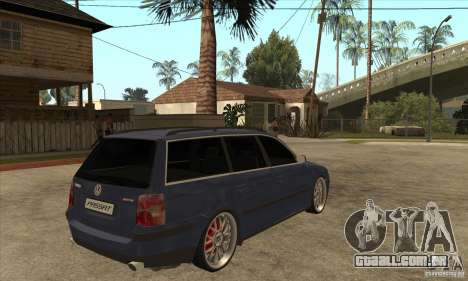 Volkswagen Passat B5.5 2.5TDI 4MOTION para GTA San Andreas