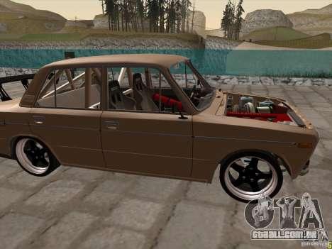 Estilo de drift VAZ 2106 para GTA San Andreas esquerda vista
