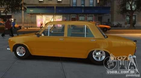 Fiat 124 para GTA 4 traseira esquerda vista