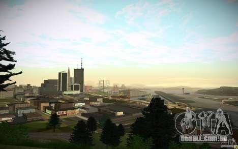 Timecyc para GTA San Andreas por diante tela